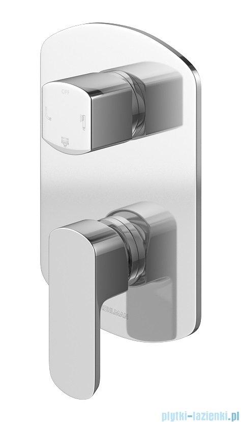Kohlman Foxal zestaw prysznicowy chrom QW211FR30