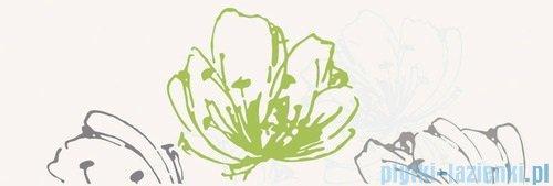 Paradyż Midian verde kwiat inserto ścienne 20x60