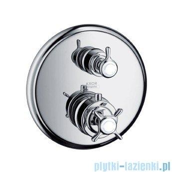 Hansgrohe Axor Montreux Bateria termostatowa podtynkowa zawór odcinający nikiel szczotkowany 16820820