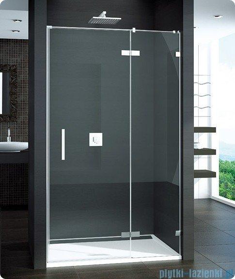 SanSwiss Pur PU13 Drzwi 1-częściowe wymiar specjalny profil chrom szkło Durlux 200 Prawe PU13DSM11022