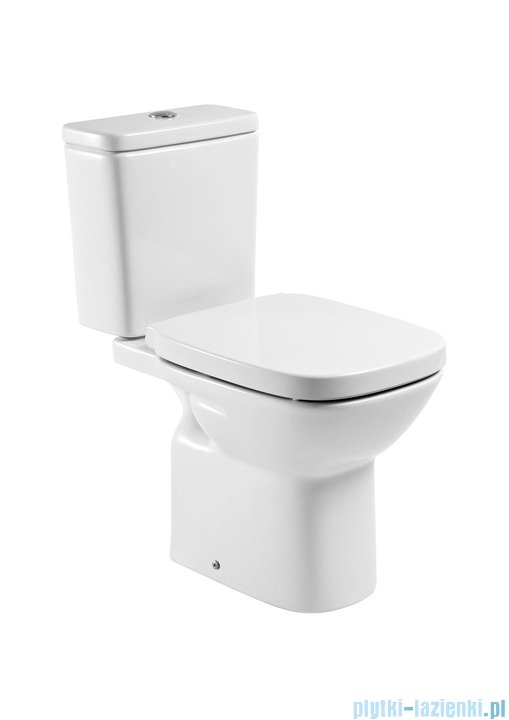 Roca Debba miska wc do kompaktu o/pion biała A342998000