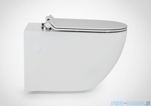 Massi Decos miska wisząca+deska wolnoopadająca slim biała MSM-3673SLIM