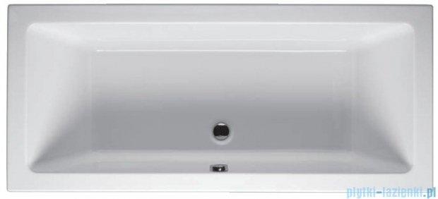 Riho Lusso Wanna prostokątna 190x80 z hydromasażem TOP Hydro 6+4+2 BA59T2