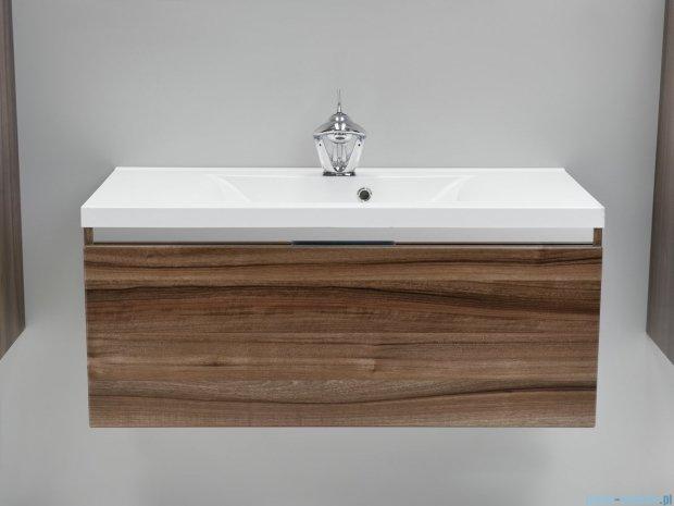 Antado Cantare szafka z umywalką 100x48x40 ciemny orzech mat FSM-342/10GT-63/63 + UMML-1000C