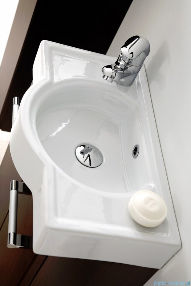 Antado Prima szafka z umywalką, wisząca 50x24x54 wenge mat BFDM-148 + UCT-50x30