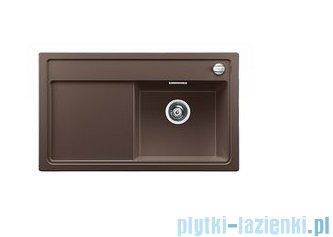 Blanco Zenar 45 S-F Zlewozmywak Silgranit PuraDur komora prawa kolor: kawowy z kor. aut. i szklaną deską do krojenia 519298