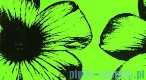 Dekor ścienny Tubądzin Colour Floral Green 32,7x59,3
