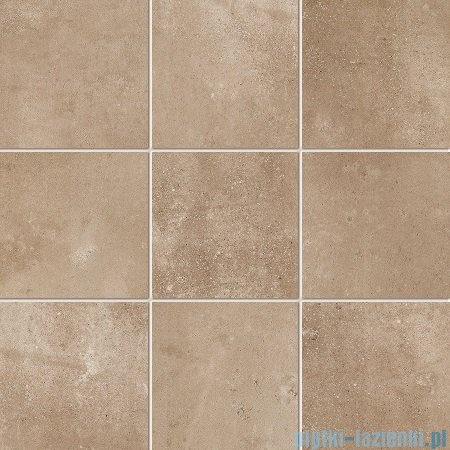 Tubądzin Epoxy brown 2 MAT mozaika gresowa 29,8x29,8