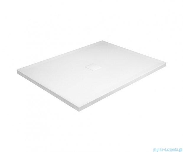 Besco Nox ultraslim white 130x90cm brodzik prostokątny biały/biały BMN130-90-BB
