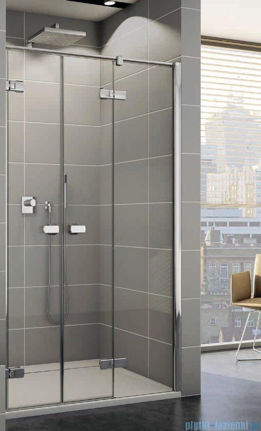 Sanswiss Melia ME32 Drzwi prysznicowe prawe 140cm przejrzyste ME32PD1401007