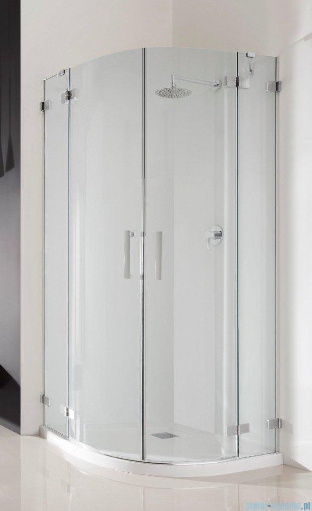 Radaway Euphoria PDD Kabina prysznicowa 80 część lewa szkło przejrzyste 383002-01L