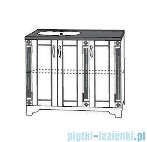 Antado Ritorno szafka podumywalkowa 100x50x81 biała VR-240-10-14