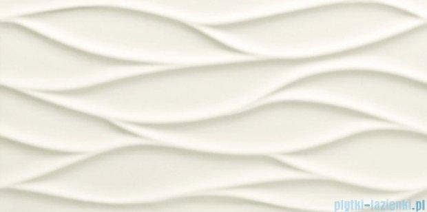 Tubądzin All in white 3 struktura płytka ścienna 29,8x59,8