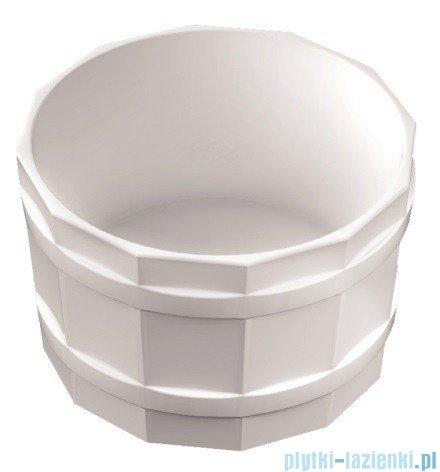 Marmorin Jacob umywalka nablatowa bez otworu biała 485036020010