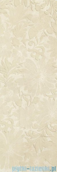 My Way Nomada beige kwiat inserto 32,5x97,7
