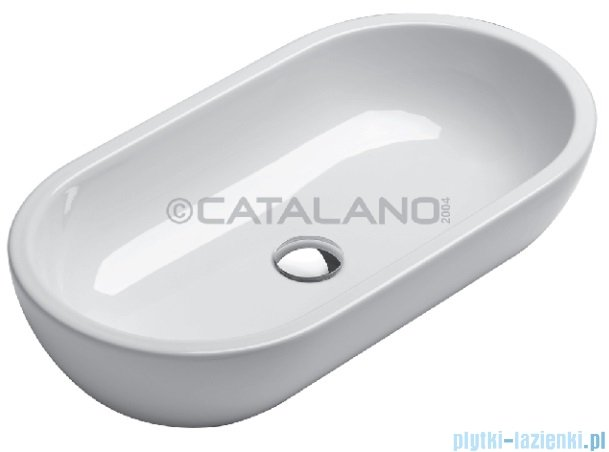 Catalano Sfera 55 umywalka nablatowa 55x37 biała 155AC200