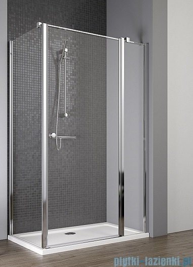 Radaway Eos II KDJ kabina prysznicowa 110x80 prawa szkło przejrzyste 3799423-01R/3799430-01L