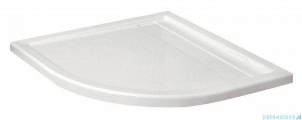 Deante Minimal brodzik półokrągły z odpływem liniowym 90x90 cm biały KTM 051B