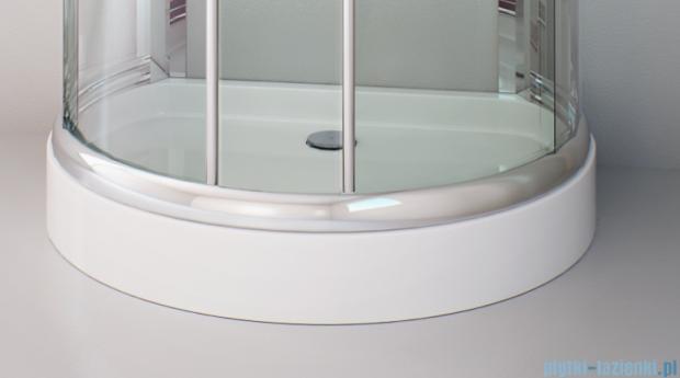 Sea Horse Sigma kabina 100x80cm brązowe BK002/3/XB+brodzik prysznicowy BKB022/X
