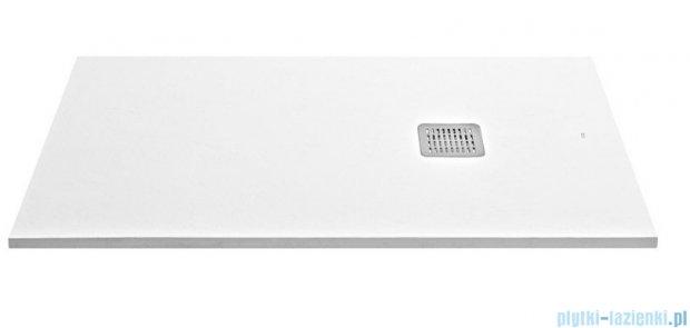 Roca Terran 80x80x2,4cm Brodzik kwadratowy biały Kompozyt AP0332032001100