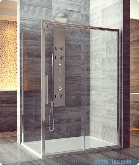 SanSwiss Pur Light S PLST Ścianka boczna 75cm profil biały szkło przejrzyste PLST0750407