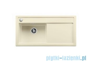 Blanco Zenar XL 6 S Zlewozmywak Silgranit PuraDur komora lewa kolor: jaśmin z kor. aut. i jesionową deską do krojenia 519245