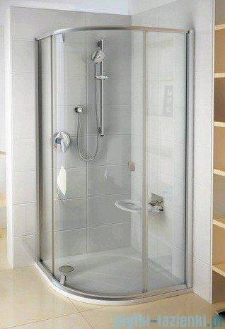 Ravak Kabina prysznicowa Pivot PSKK3 półokrągła 80x80 biała/biała 37644101Z1