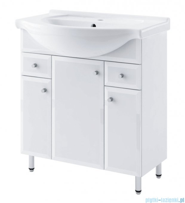Aquaform Dallas szafka podumywalkowa 75cm biały 0401-530122