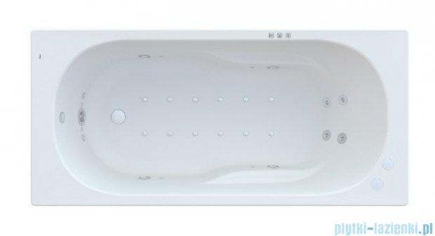 Roca Genova N wanna 160x75cm z hydromasażem Smart WaterAir Plus Opcja A24T366000