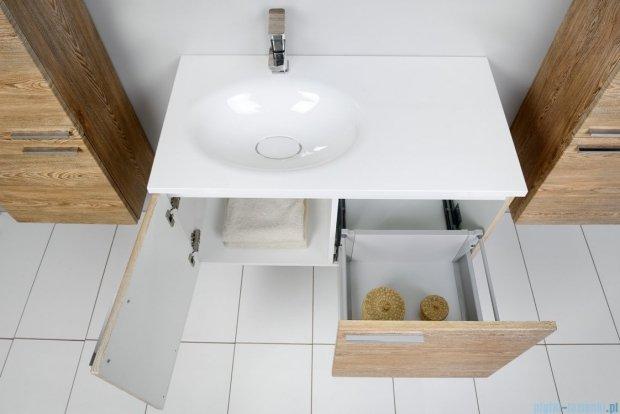 Antado Sycylia szafka z umywalką lewa 90x48x45 świerk tatrzański KTS-140/2-66L+UMMO-900-03L