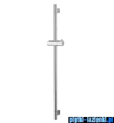 Omnires drążek prysznicowy ze stali nierdzewnej 82,5cm chrom DR09