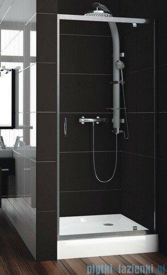 Aquaform Nigra drzwi prysznicowe 80x185cm chrom szkło przejrzyste 103-091111P