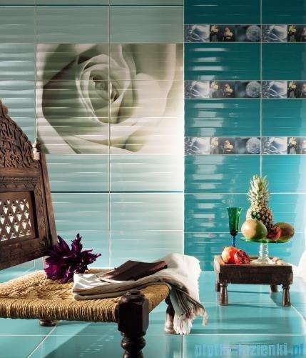 Tubądzin Maxima azure 1 dekor ścienny 6-elementowy 67,3x89,8