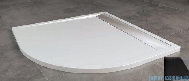 SanSwiss ILa Wir Brodzik półokrągły 100x100cm kolor czarny/czarny WIR5510006154