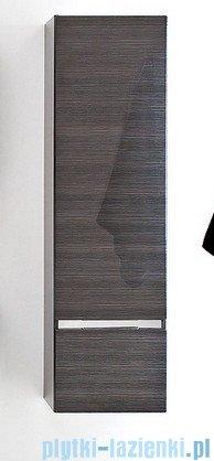 Antado Cantare Słupek wiszący z szufladą 40x31x143 prawy, grafit- fino FSM-392GTR-46/46