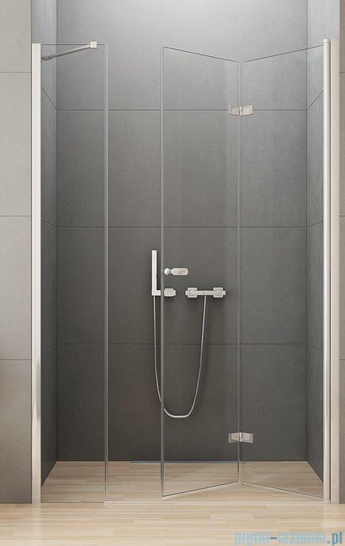 New Trendy New Soleo Plus drzwi wnękowe bifold 140x195 cm przejrzyste Prawe D-0154A/D-0096B