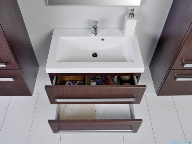 Antado Variete szafka z umywalką, wisząca z dwiema szufladami 60x39x40 wenge mat FDM-C-442/6/2-77 + UMMC-600X390