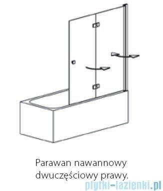 Polimat Avran PNDP parawan nawannowy prawy 140cm 1201003