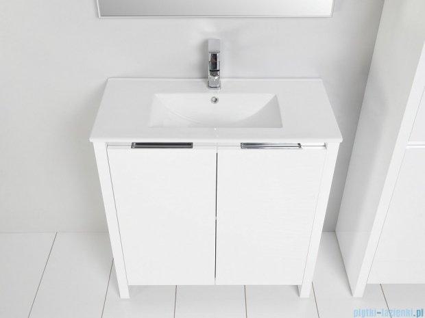 Antado Pacific New szafka z umywalką ceramiczną 99x38x82 biały połysk PF-141/10-WS/47+UCE-100