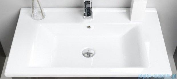 Antado Variete ceramic szafka z umywalką ceramiczną 2 szuflady 72x43x50 czarny połysk FM-AT-442/75/2-9017+UCS-AT-75
