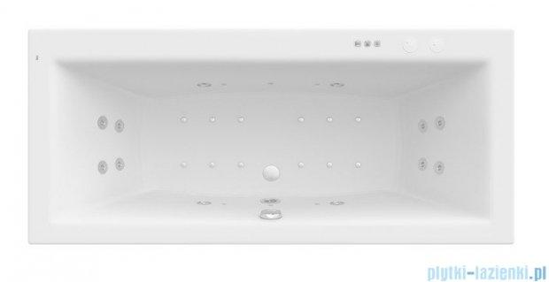 Roca Vita wanna 180x80cm z hydromasażem Smart WaterAir Plus A24T078000