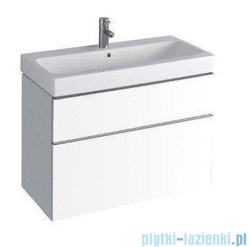Keramag Icon Szafka wisząca pod umywalkowa 89cm biały połysk 840390