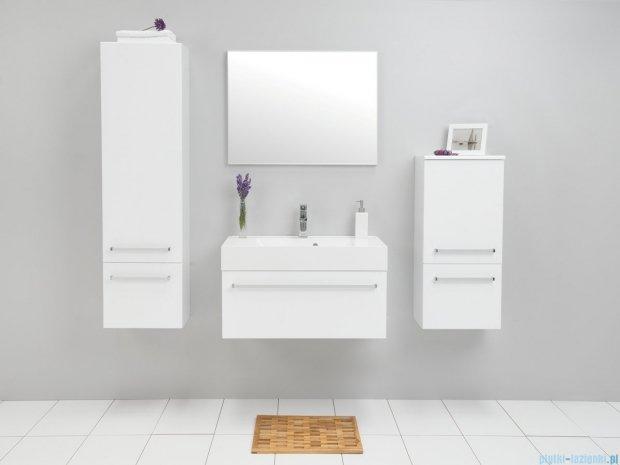 Antado Variete szafka z umywalką, wisząca 80x50x33 biały połysk FM-442/8 + UNA-800