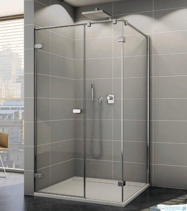 Sanswiss Melia ME31P Kabina prysznicowa lewa 120x100cm przejrzyste ME31PG1201007/MET3PD1001007