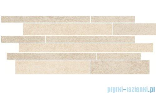 Paradyż Rino beige mix paski listwa 20x52