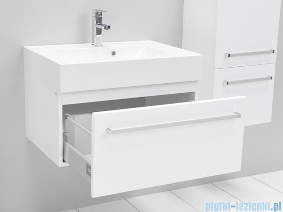 Antado Variete Szafka podumywalkowa wisząca 70x50x33 biały połysk FM-442/7