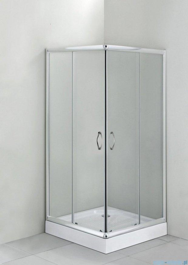 Deante Funkia kabina kwadratowa 80x80x185 cm przejrzyste KYC 042K