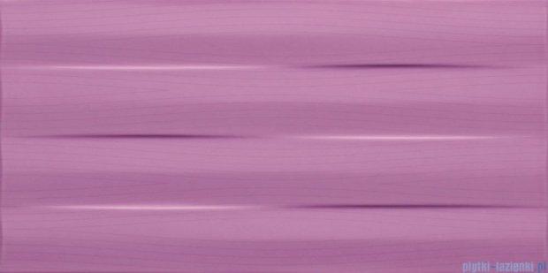 Tubądzin Maxima purple struktura płytka ścienna 22,3x44,8