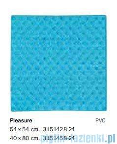 Sealskin Mata antypoślizgowa Pleasure do brodzika niebieska 54x54cm 315142824