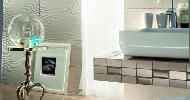 Tubądzin Gobi white płytka podłogowa 45x45